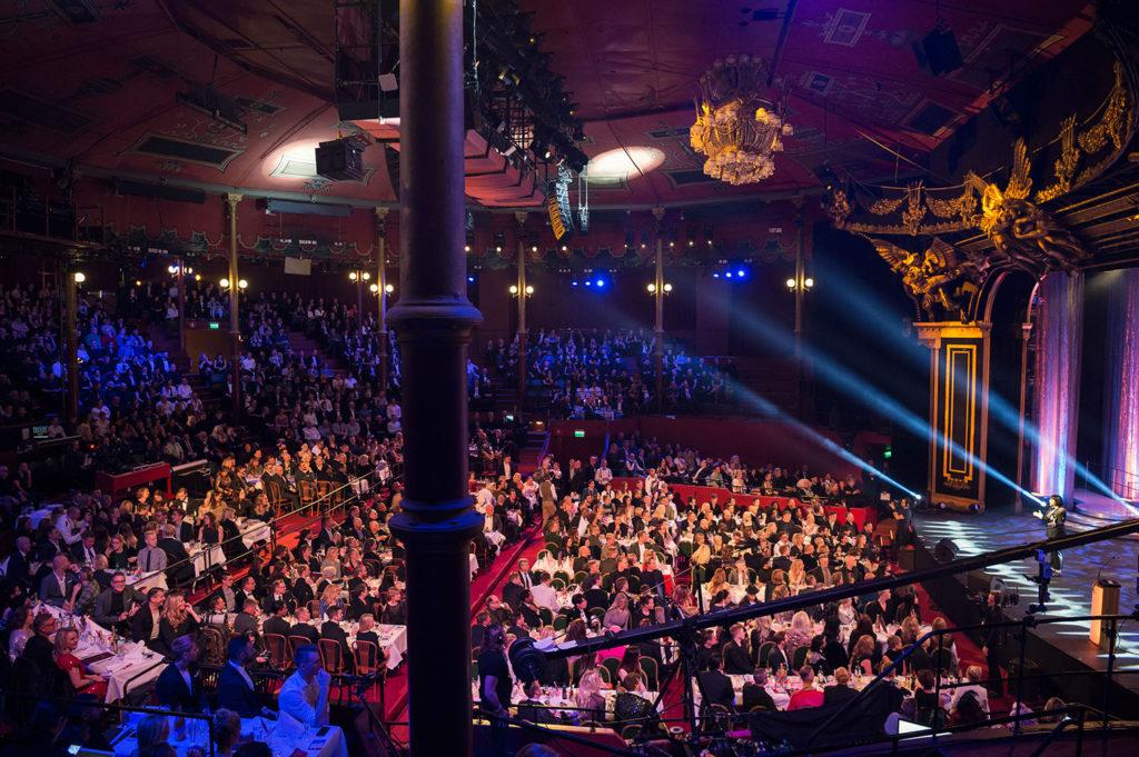 QX-galan på Cirkus i Stockholm.
